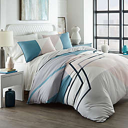 City Scene® Thornton Duvet Cover Set in Blue