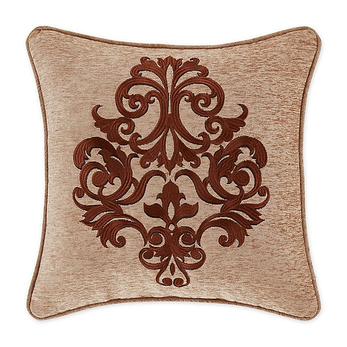 Alternate image 1 for J. Queen New York™ Luciana 18-Inch Square Throw Pillow in Beige