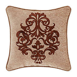 J. Queen New York™ Luciana 18-Inch Square Throw Pillow in Beige