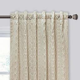 Hyde Rod Pocket/Back Tab Window Curtain Panel (Single)