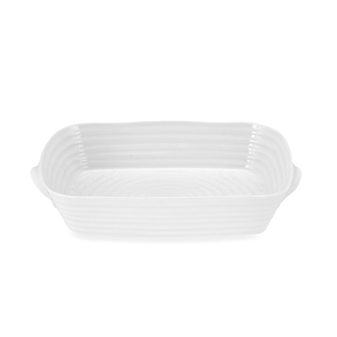 Alternate image 1 for Sophie Conran for Portmeirion® Small Handled Roasting Dish in White