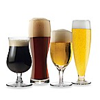 Mikasa® Brewmasters 4-Piece Varietal Beer Glass Set