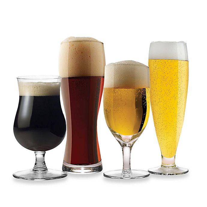 Alternate image 1 for Mikasa® Brewmasters 4-Piece Varietal Beer Glass Set