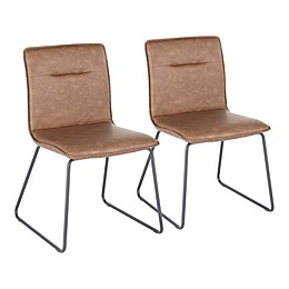 Lumisource Casper Chairs in Espresso (Set of 2)