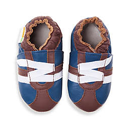 MomoBaby Soft Sole Leather Sneakers in Z-Strap Brown