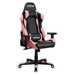Techni Sport TS-4300 High Back Racer Style PC Gaming Chair in Pink