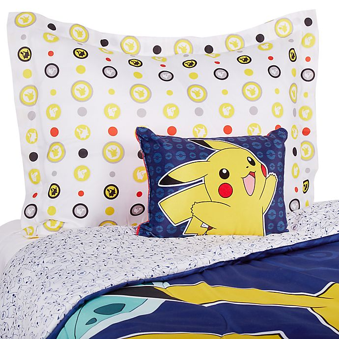Pokemon Reversible 3 Piece Bedding Set