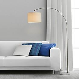 O&O by Olivia & Oliver™ Adjustable Arc Floor Lamp in Brushed Steel