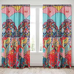 Levtex Home Esmeralda 84-Inch Rod Pocket Window Curtain Panel
