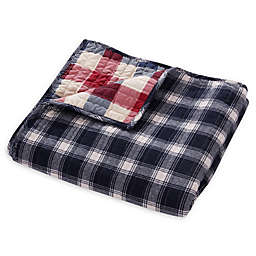 Levtex Home Lodge Quilted Throw Blanket in Navy
