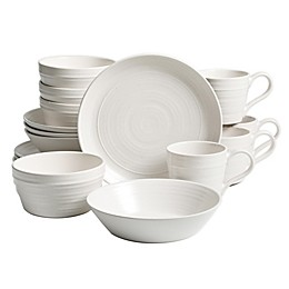 Bee & Willow™ Home Milbrook 16-Piece Dinnerware Set in White