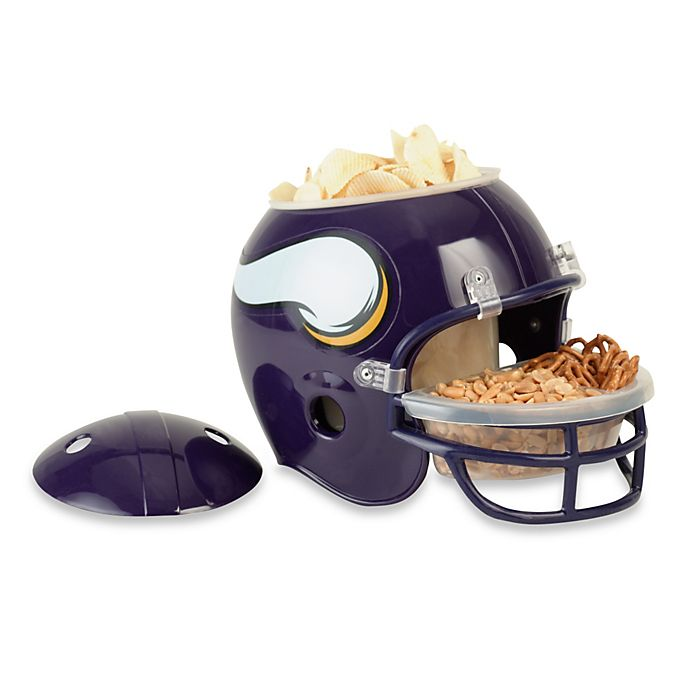 check out 718d2 56000 NFL Minnesota Vikings Snack Helmet | Bed Bath and Beyond Canada