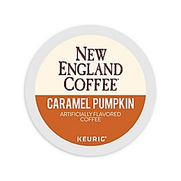 New England Coffee® Caramel Pumpkin Coffee Keurig® K-Cup® Pods 18 Count