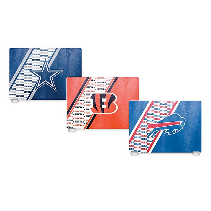 Alternate image 1 for NFL Tempered Glass Cutting Board Collection