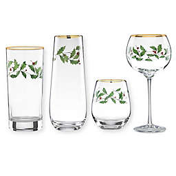 Lenox® Holiday Decal Glassware Collection