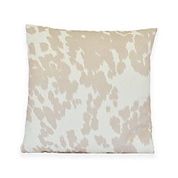 Udder Madness Throw Pillow in Blush