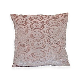 Newport Layton Home Belle Isle Square Throw Pillow in Fawn
