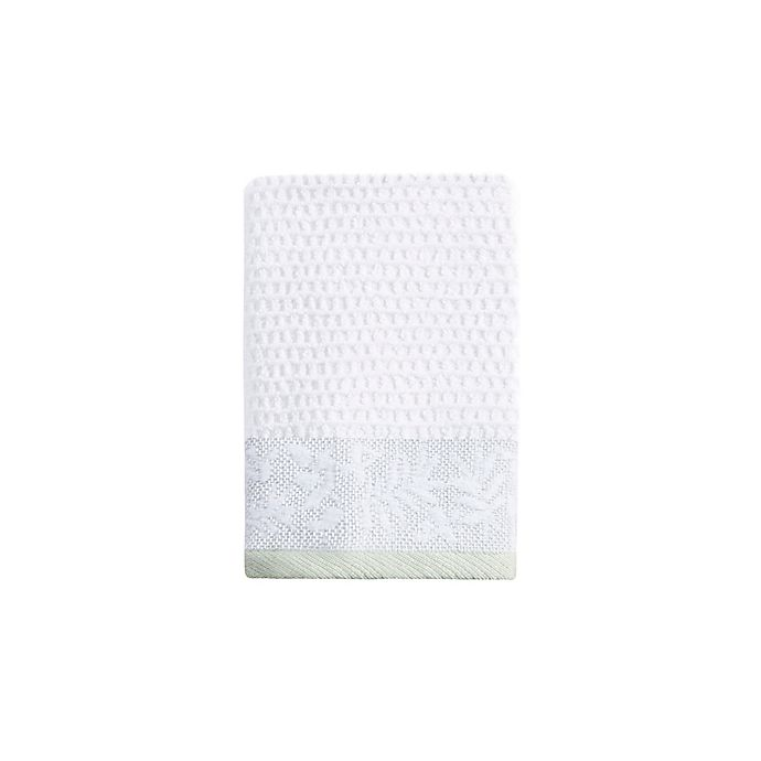 Alternate image 1 for Bee & Willow™ Home Glendale Fingertip Towel in Green