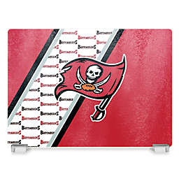 NFL Tampa Bay Buccaneers Tempered Glass Cutting Board