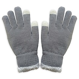 Isaac Mizrahi Knit Women's Gloves with Touch Tips