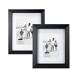 Malden® Berkeley Matted Picture Frame in Black
