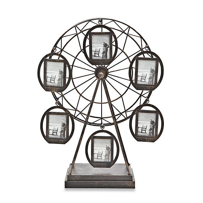 Godinger 6-Picture Rotating Ferris Wheel Frames | Bed Bath & Beyond