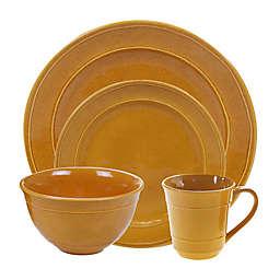 Certified International Orbit Dinnerware Collection in Harvest Gold