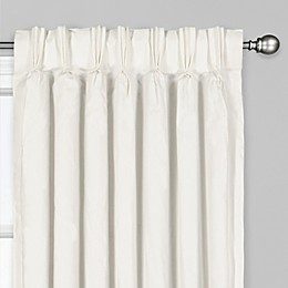 Tucson Pinch Pleat/Back Tab Window Curtain Panel
