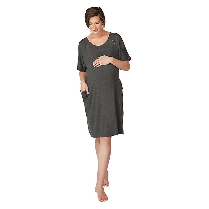 Alternate image 1 for Frida Mom Delivery and Nursing Gown