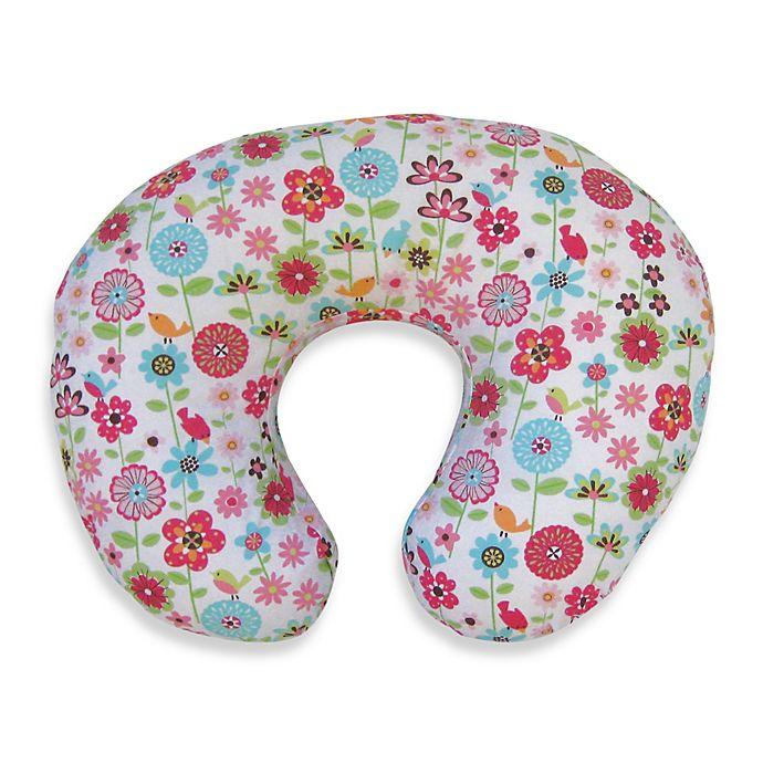 Alternate image 1 for Boppy® Infant Feeding/Support Pillow with Backyard Bloom Slipcover