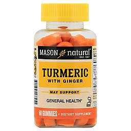 Mason Natural® 60-Count Turmeric with Ginger Gummies