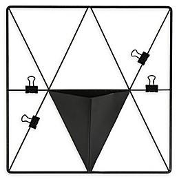 WALL POPS! Metal Triangle Grid Pocket Wall Organizer