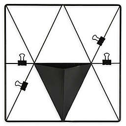 WALL POPS! Metal Triangle Grid Pocket Wall Organizer