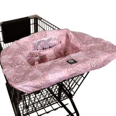 Balboa Baby 174 Shopping Cart And High Chair Cover In Pink