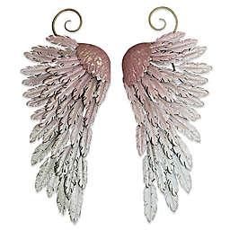 Arthouse Large Metal Angel Wings Decor