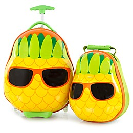Heys® Travel Tots Pineapple 2-Piece Rolling Luggage and Backpack Set