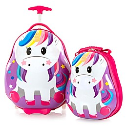 Heys® Travel Tots Unicorn 2-Piece Rolling Luggage and Backpack Set