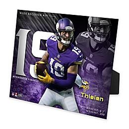 NFL Minnesota Vikings Adam Thielen PleXart Photo Mint