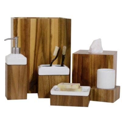 ravine collection bathroom accessories | bed bath & beyond