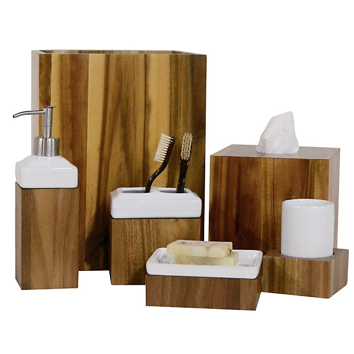 Bed Bath And Beyond Bath Accessories: Ravine Collection Bathroom Accessories