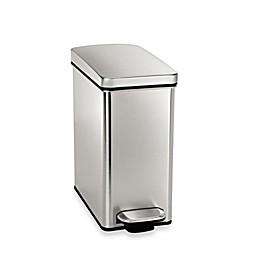 simplehuman® 10-Liter Profile Step Wastebasket