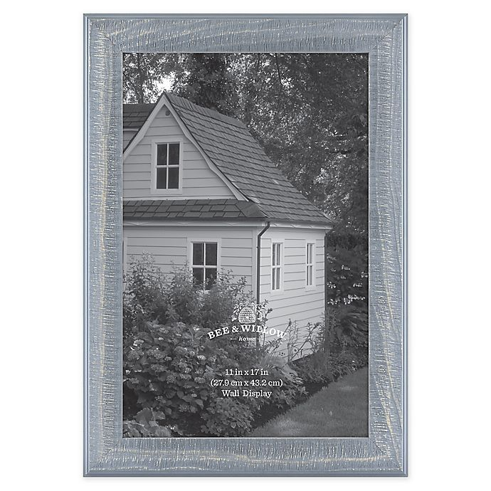 Alternate image 1 for Bee & Willow™ Home 11-Inch x 17-Inch Wooden Picture Frame in Blue