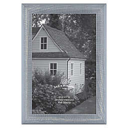 Bee & Willow™ Home 11-Inch x 17-Inch Wooden Picture Frame in Blue