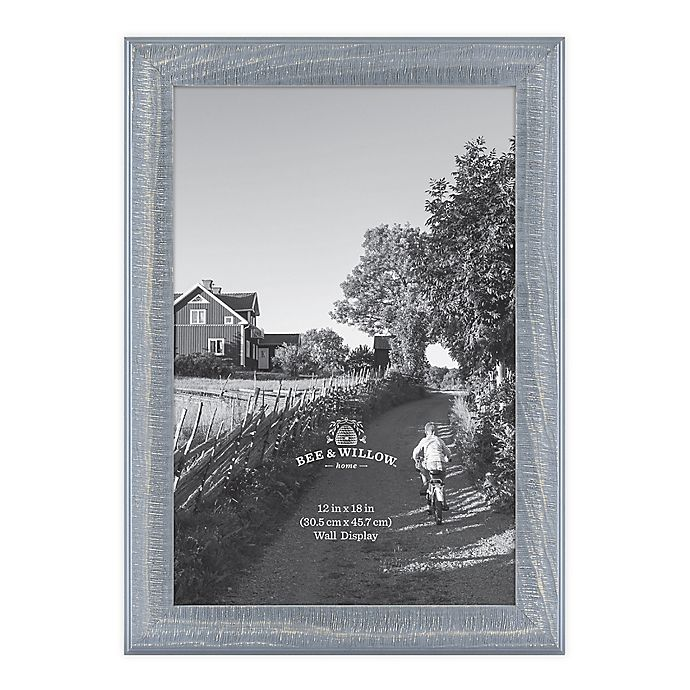 Alternate image 1 for Bee & Willow™ Home 12-Inch x 18-Inch Wooden Picture Frame in Blue