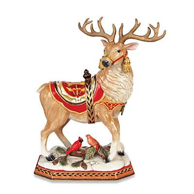 Fitz and Floyd® Damask Holiday Deer Figurine