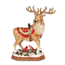 Fitz and Floyd® Damask Holiday Deer Figurine