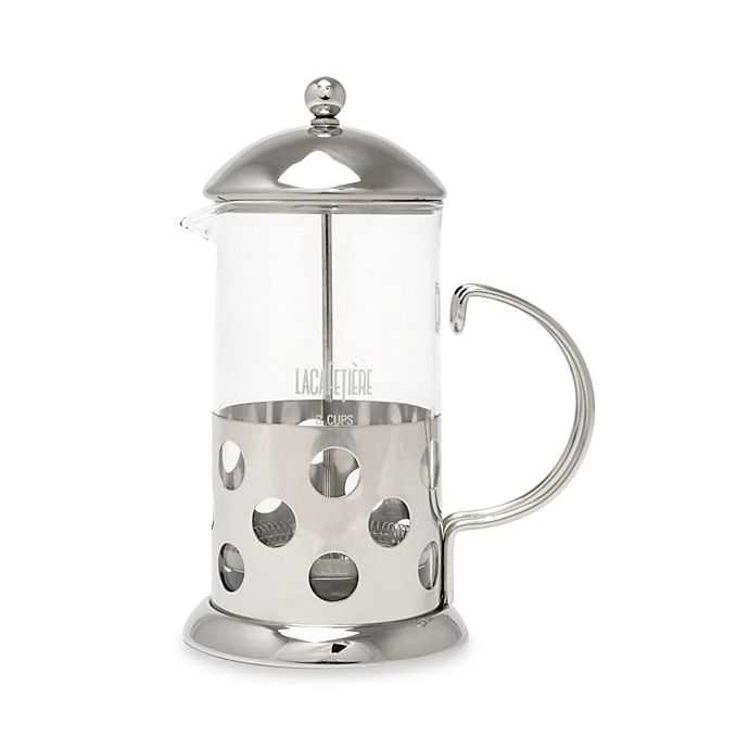 Alternate image 1 for La Cafeterie Santos 8-Cup Classic Chrome French Press