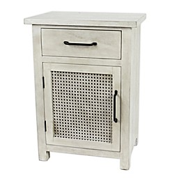 Bee & Willow™ Home Cane Cabinet in White