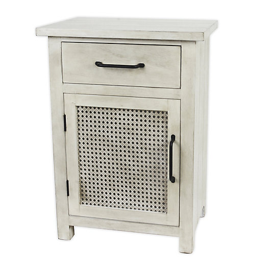 Alternate image 1 for Bee & Willow™ Home Cane Cabinet in White