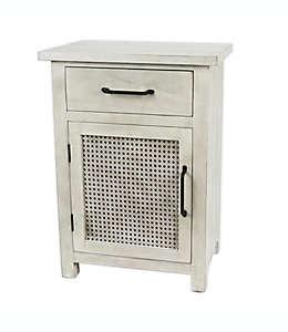 Gabinete Bee & Willow™ Home con puerta tejida en blanco